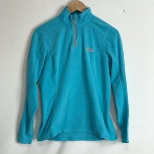 The North  Face Small Petite Women Fleece Shirt